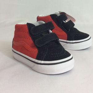 NWT Kids Vans Sk8 Hi Mid Reissue Sneakers